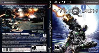 Vanquish PS3 cover (BLUS30543)
