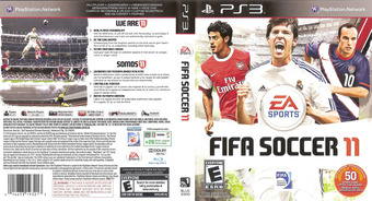 FIFA Soccer 11 PS3 cover (BLUS30630)