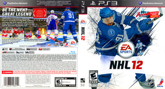 NHL 12 PS3 cover (BLUS30791)