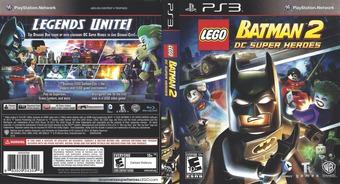 LEGO Batman 2: DC Super Heroes PS3 cover (BLUS30837)