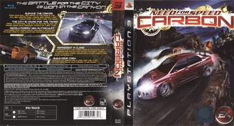 Need for Speed: Carbon PS3 cover (BLAS50003)