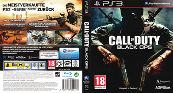 Call of Duty - Black Ops PS3 cover (BLES01105)