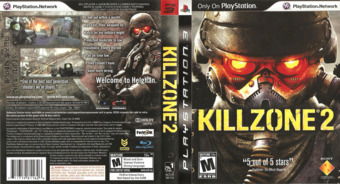 Killzone Trilogy PS3 cover (BCUS98116)