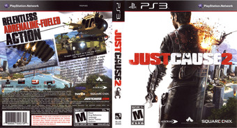 Just Cause 2 PS3 cover (BLUS30400)