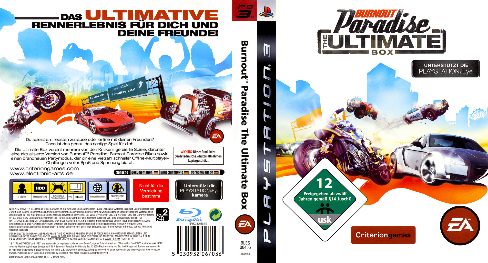 bles00455 burnout paradise the ultimate box