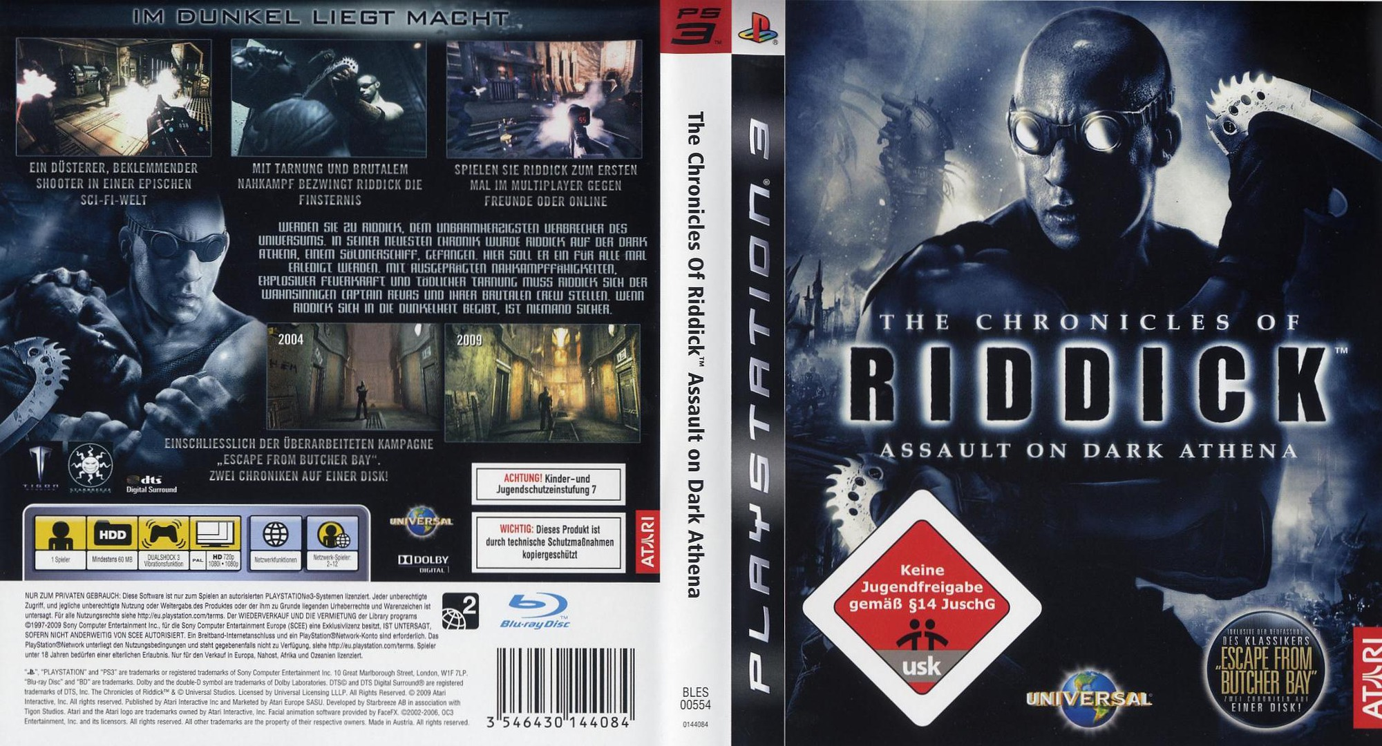 Bles00554 The Chronicles Of Riddick Assault On Dark Athena