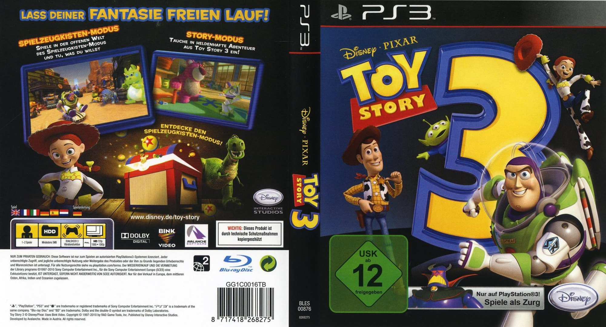 Toy 3 Games : Bles toy story