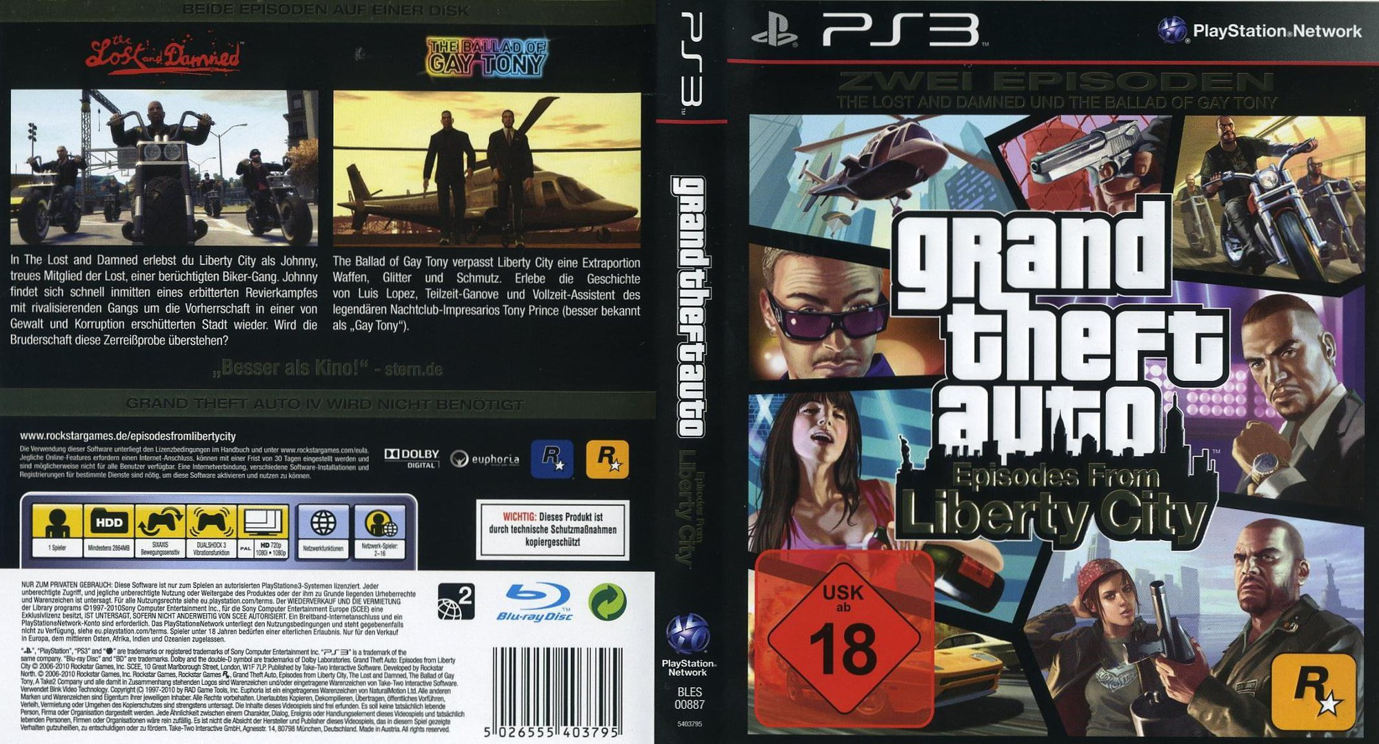 Grand Theft Auto Episodes from Liberty City Cheats