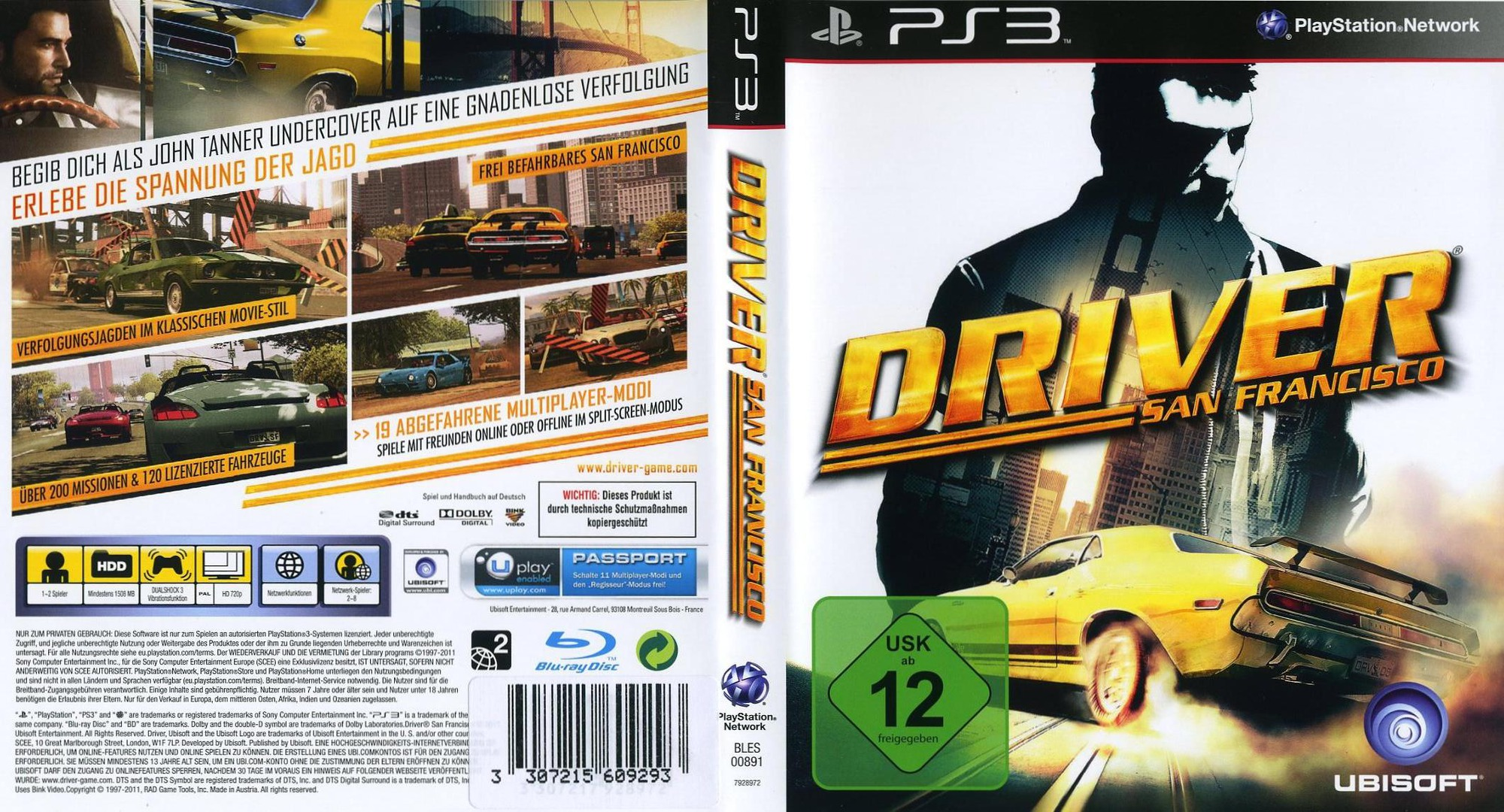 Save for Driver San Francisco | Saves For Games