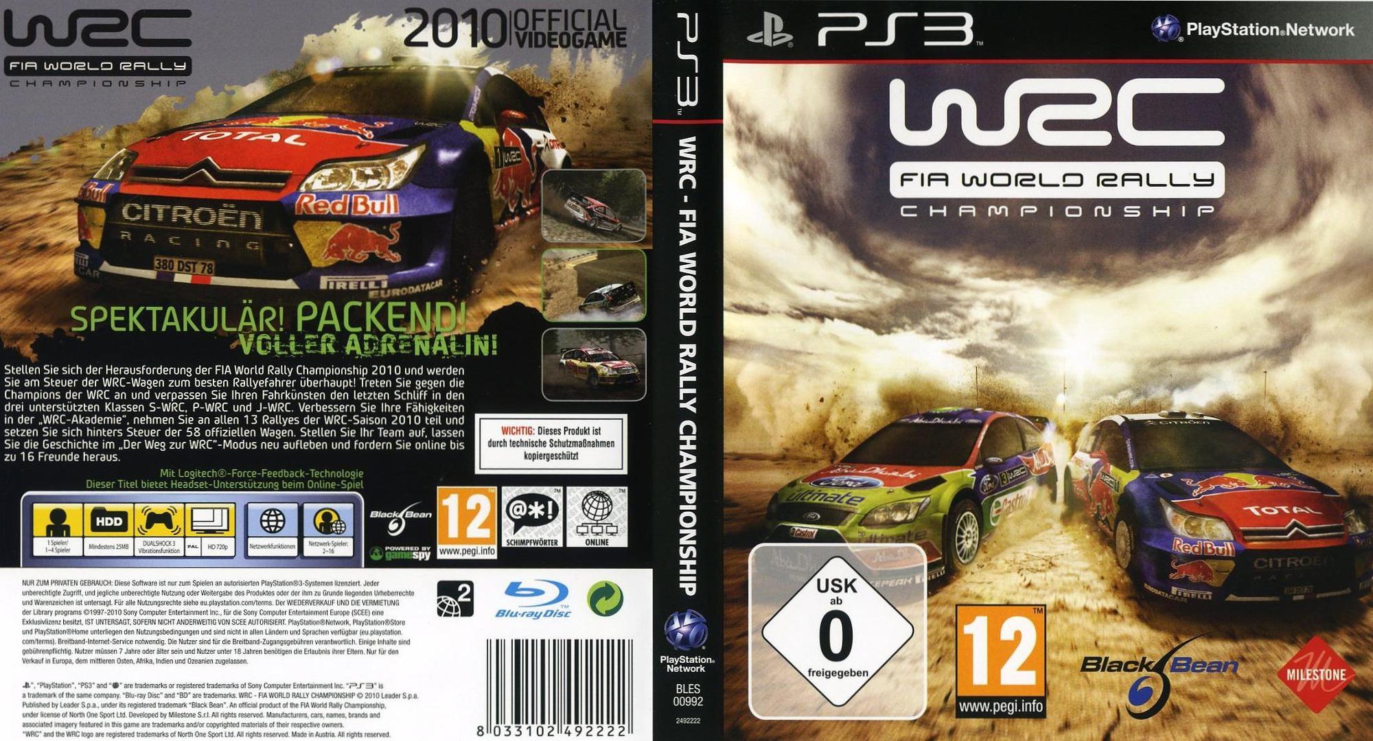 BLES00992 - WRC: Fia W...
