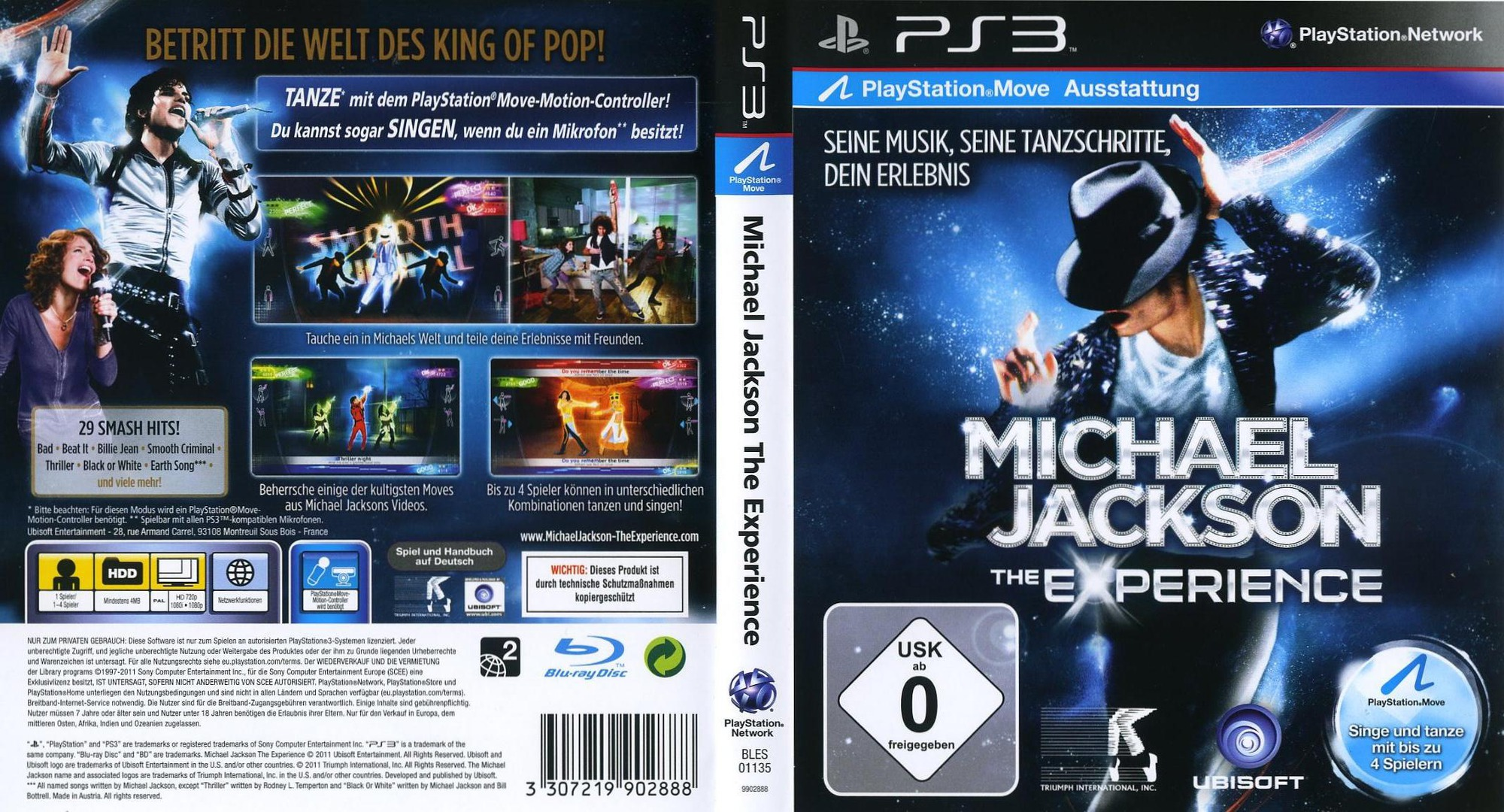bles01135 michael jackson the experience
