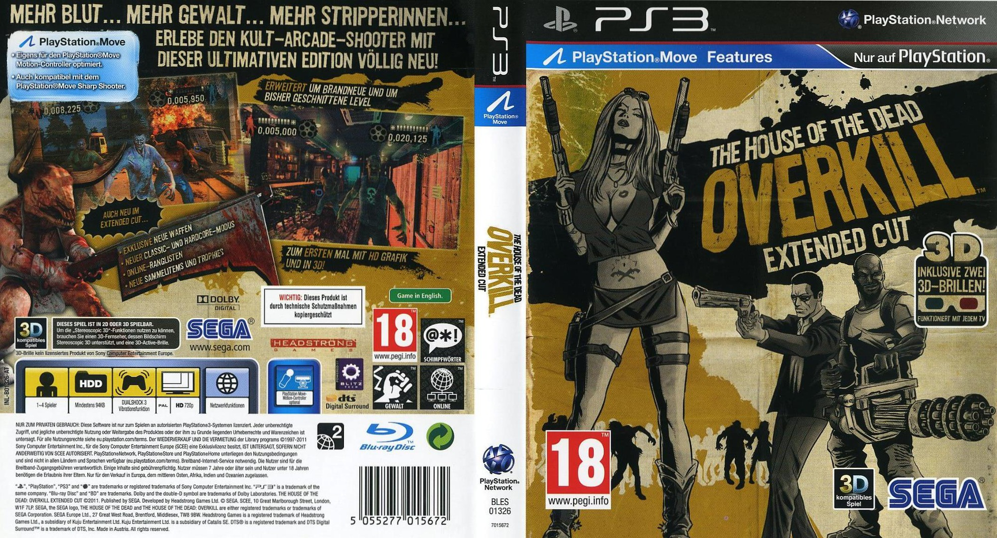 Bles01326 The House Of The Dead Overkill Extended Cut