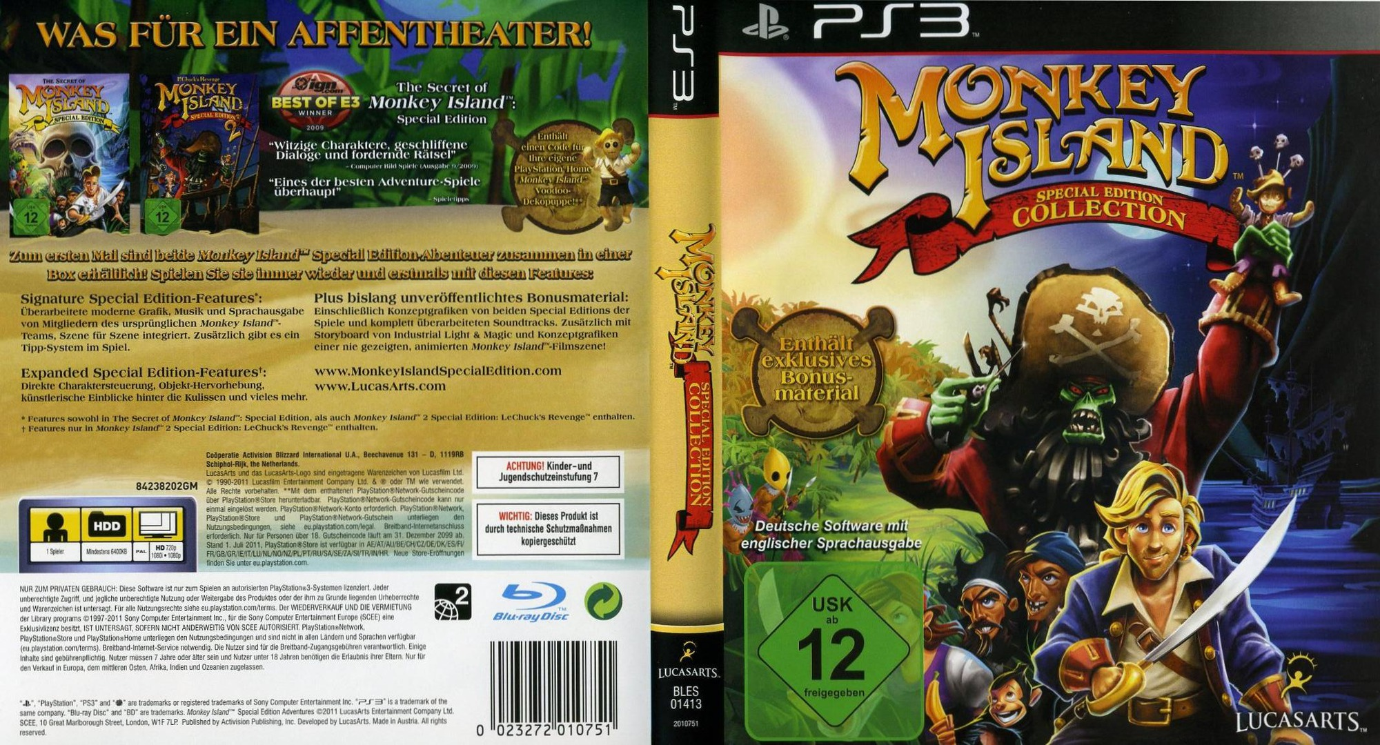 Monkey Island Title