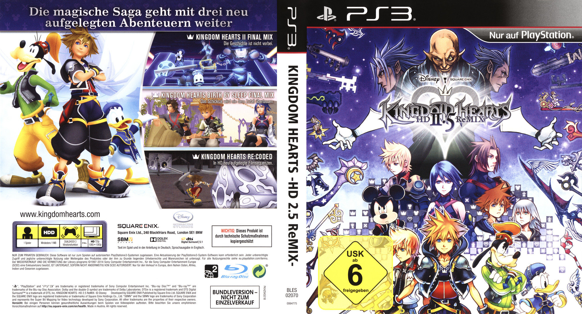 Bles02070 Kingdom Hearts Hd 2 5 Remix