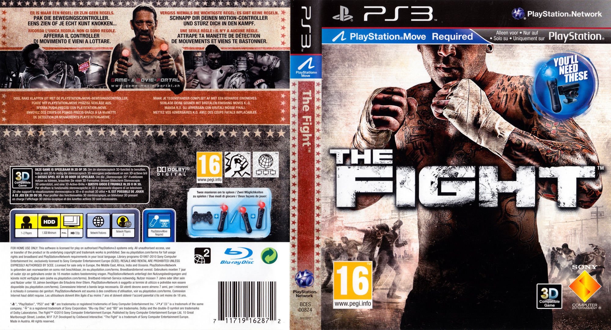 The Fight PS3 coverfullHQ (BCES00874)