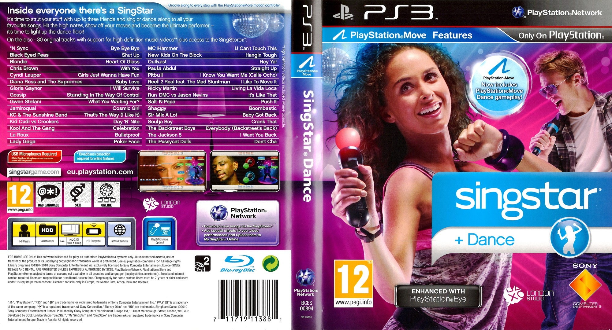 SingStar Dance PS3 coverfullHQ (BCES00894)