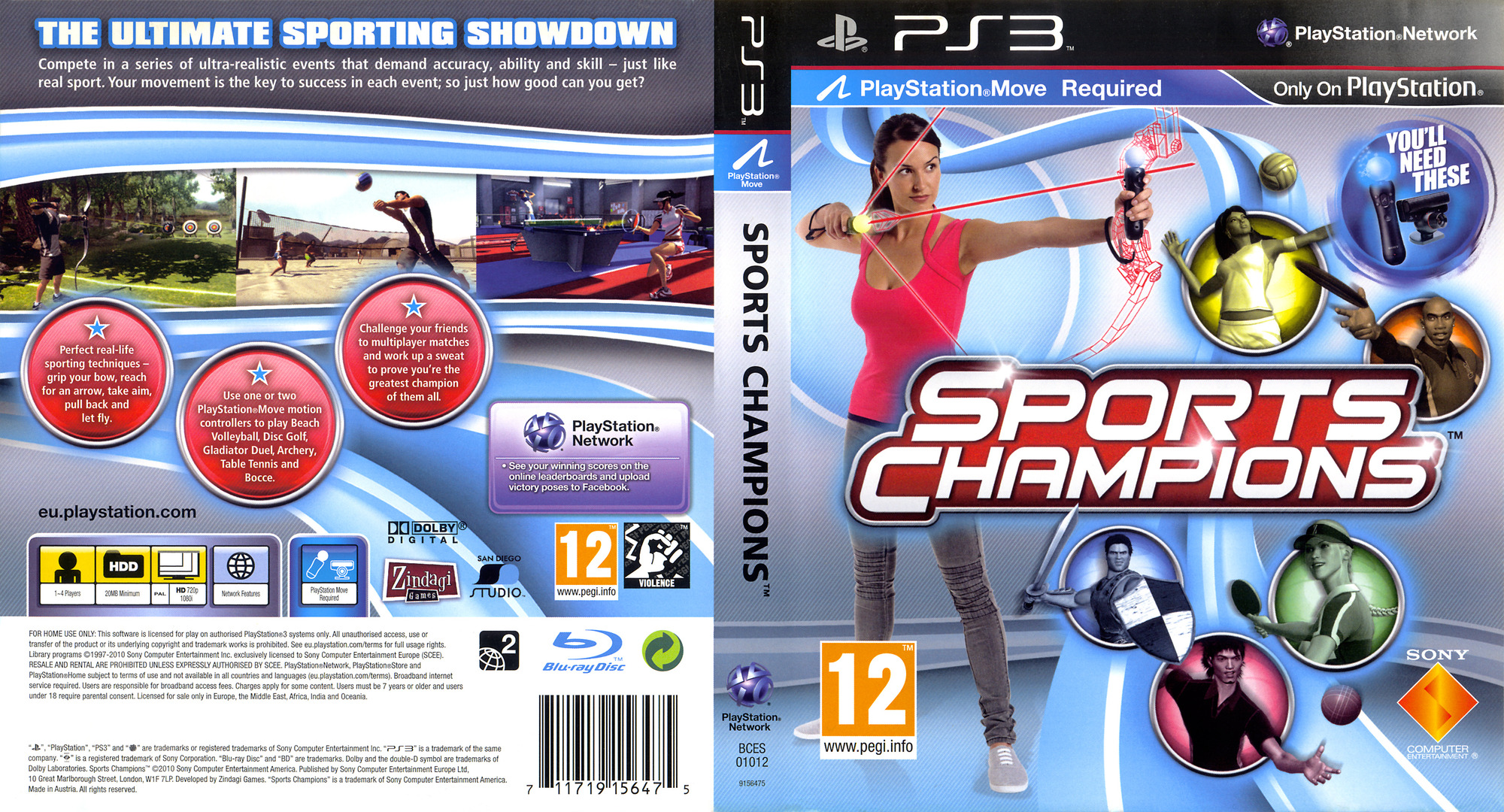 Sports Champions PS3 coverfullHQ (BCES01012)