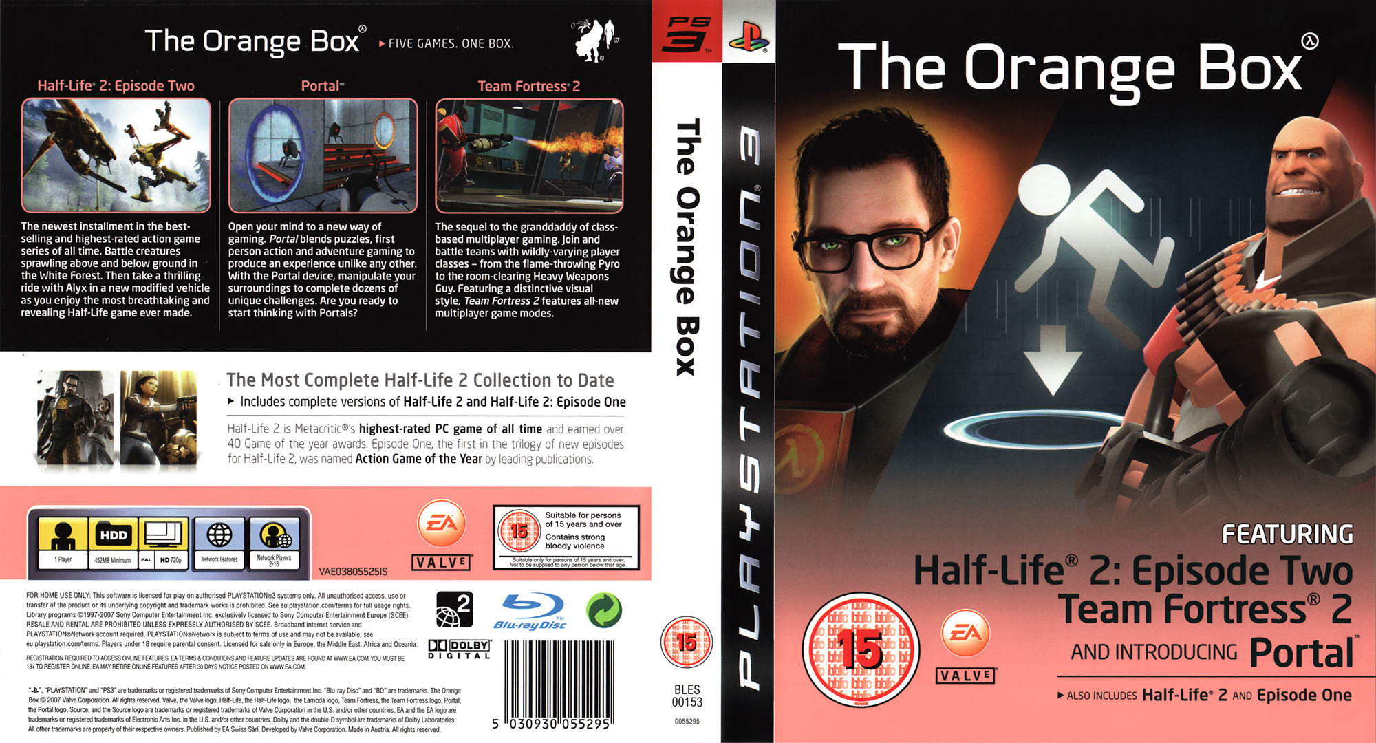 The Orange Box PS3 coverfullHQ (BLES00153)
