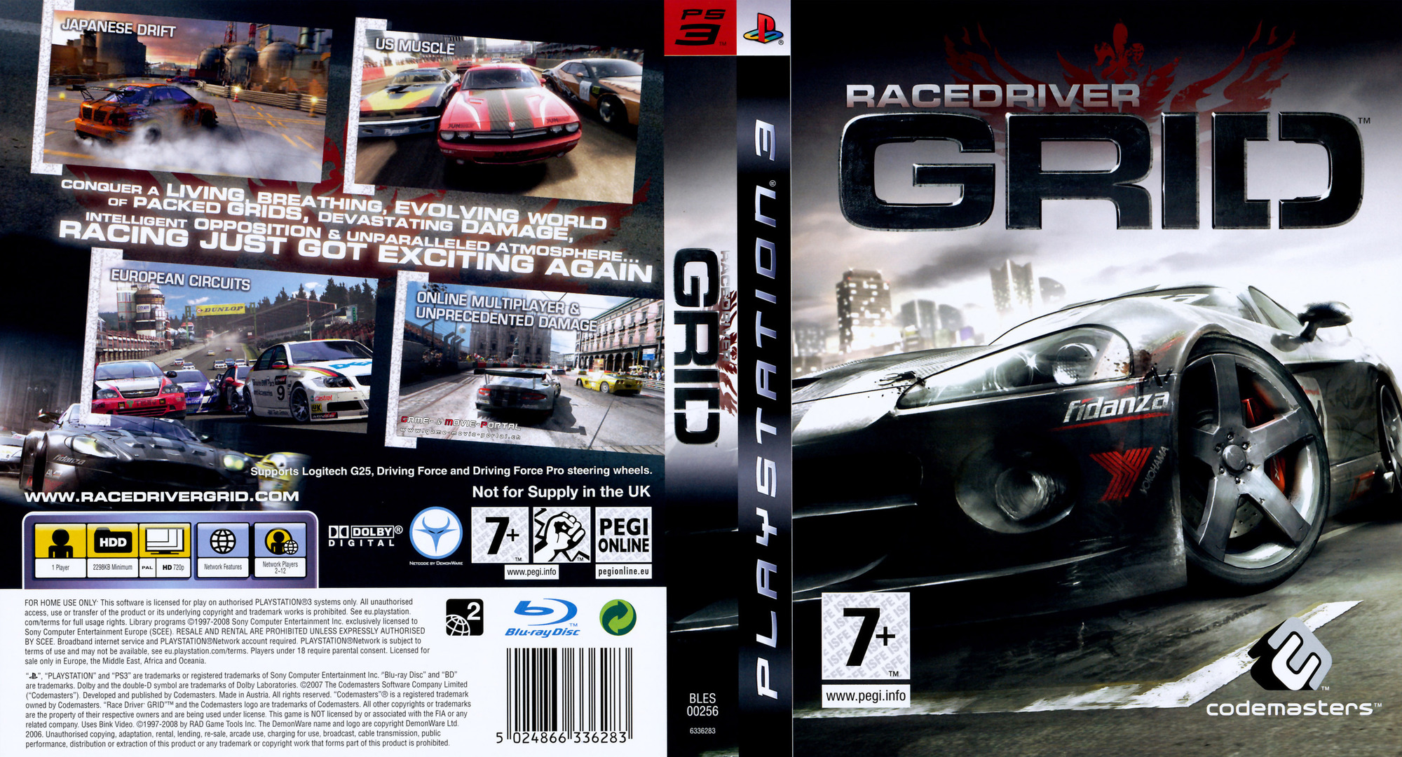 Race Driver Grid PS3 coverfullHQ (BLES00256)