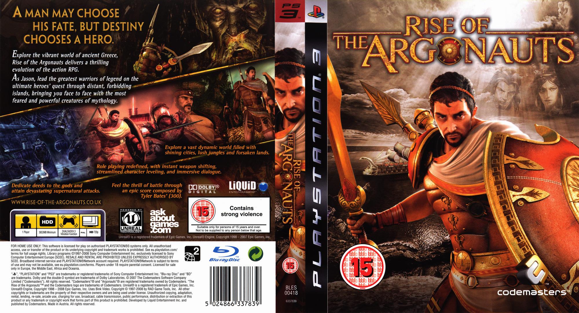 Rise of the Argonauts PS3 coverfullHQ (BLES00418)