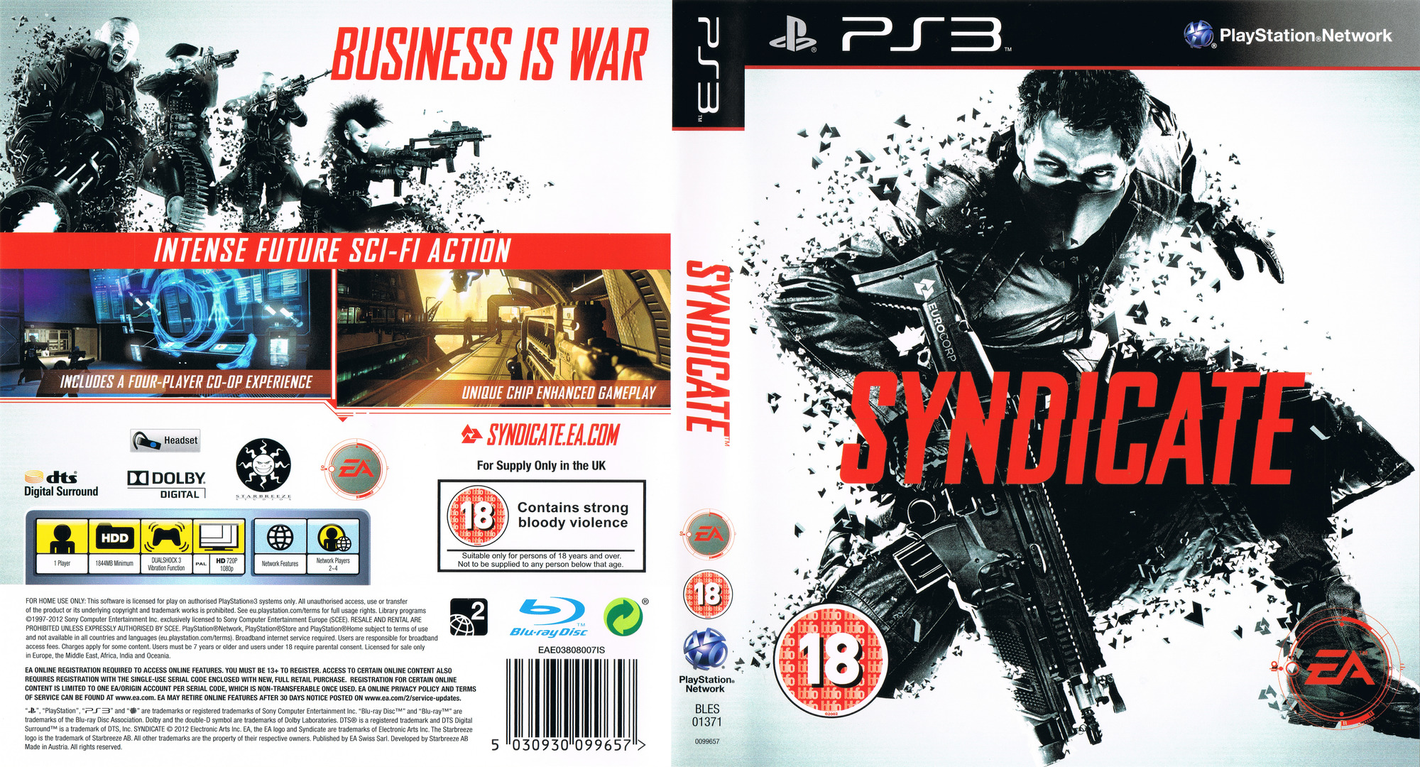 Syndicate PS3 coverfullHQ (BLES01371)