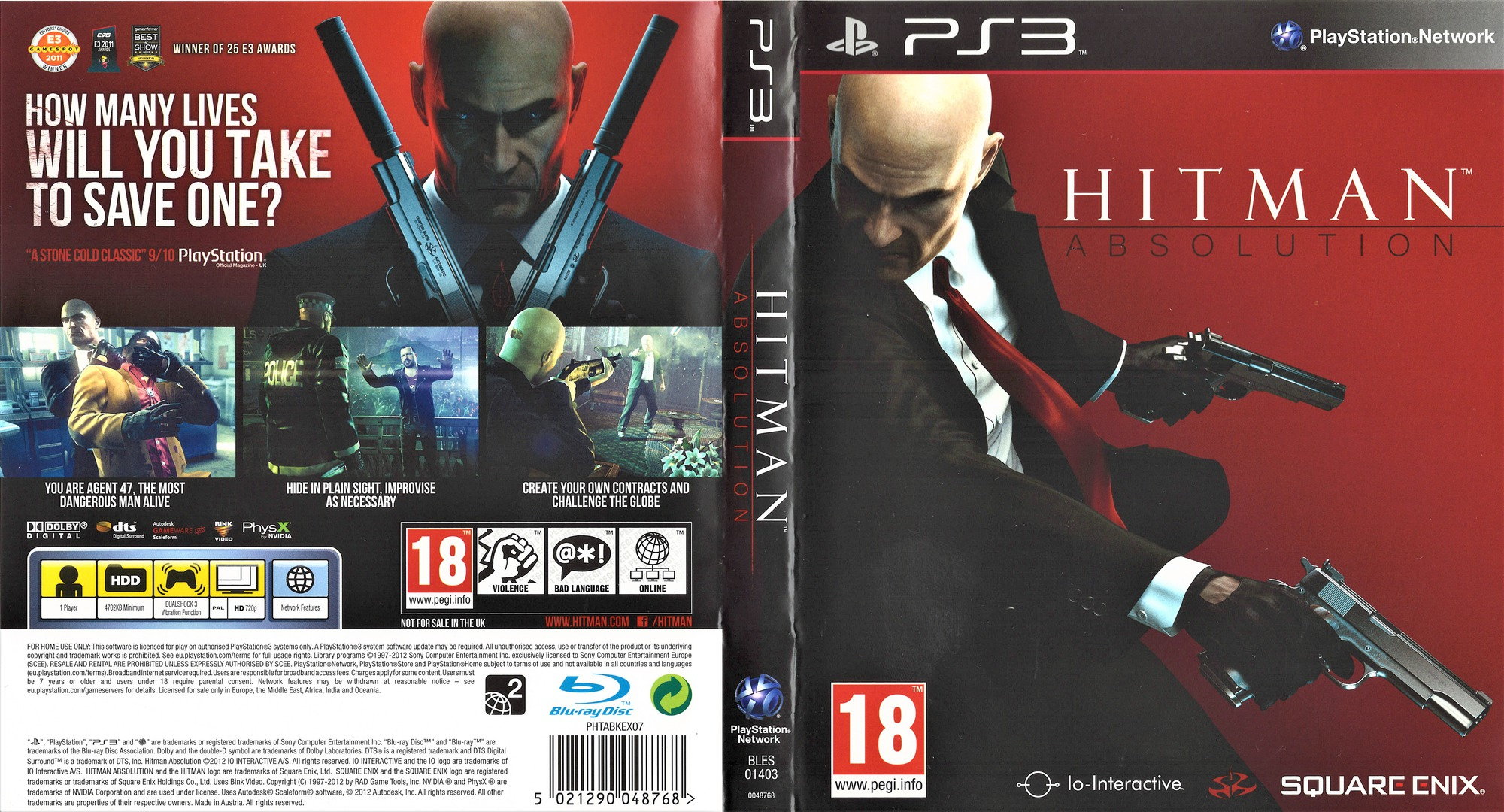 Bles01403 Hitman Absolution