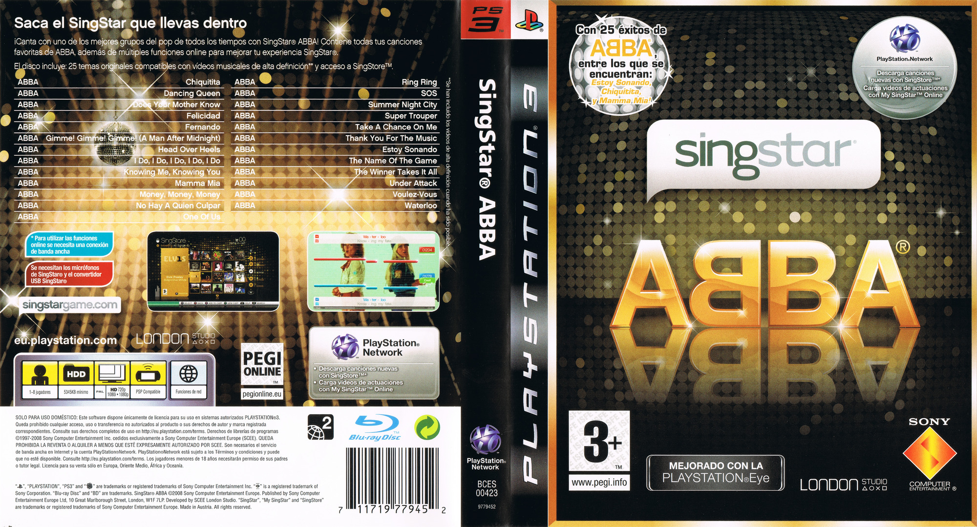 SingStar ABBA PS3 coverfullHQ (BCES00423)