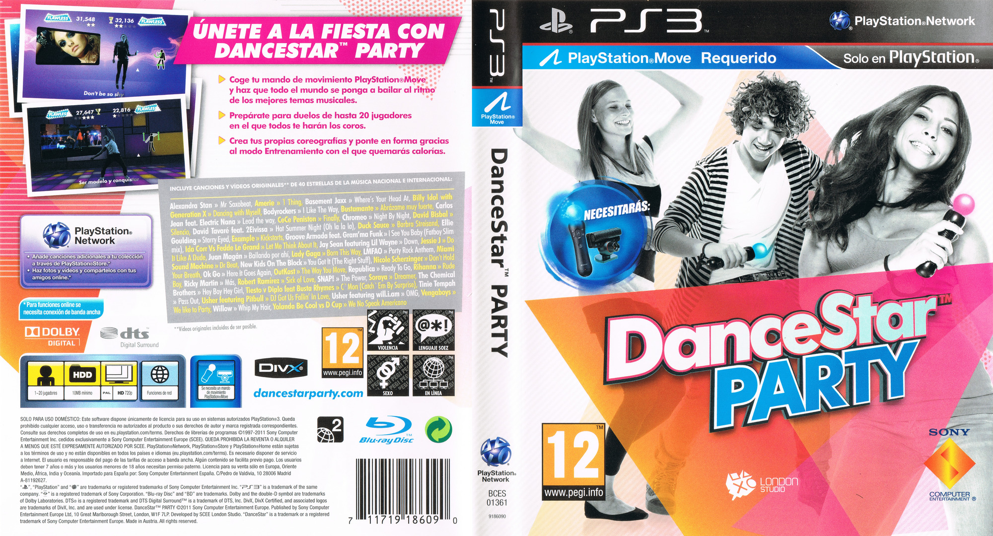DanceStar Party PS3 coverfullHQ (BCES01361)