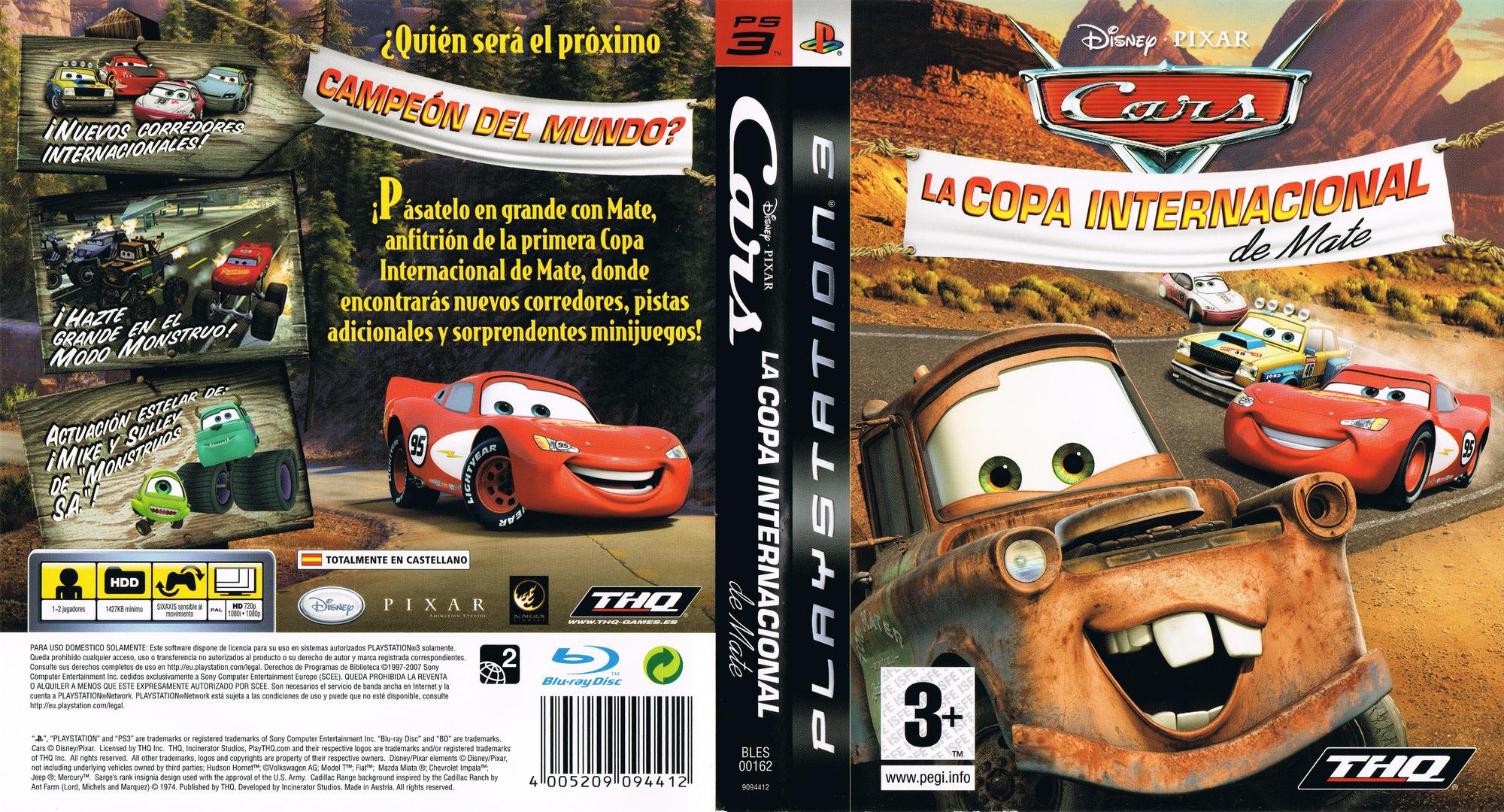 Cars: La Copa Internacional De Mate PS3 coverfullHQ (BLES00162)