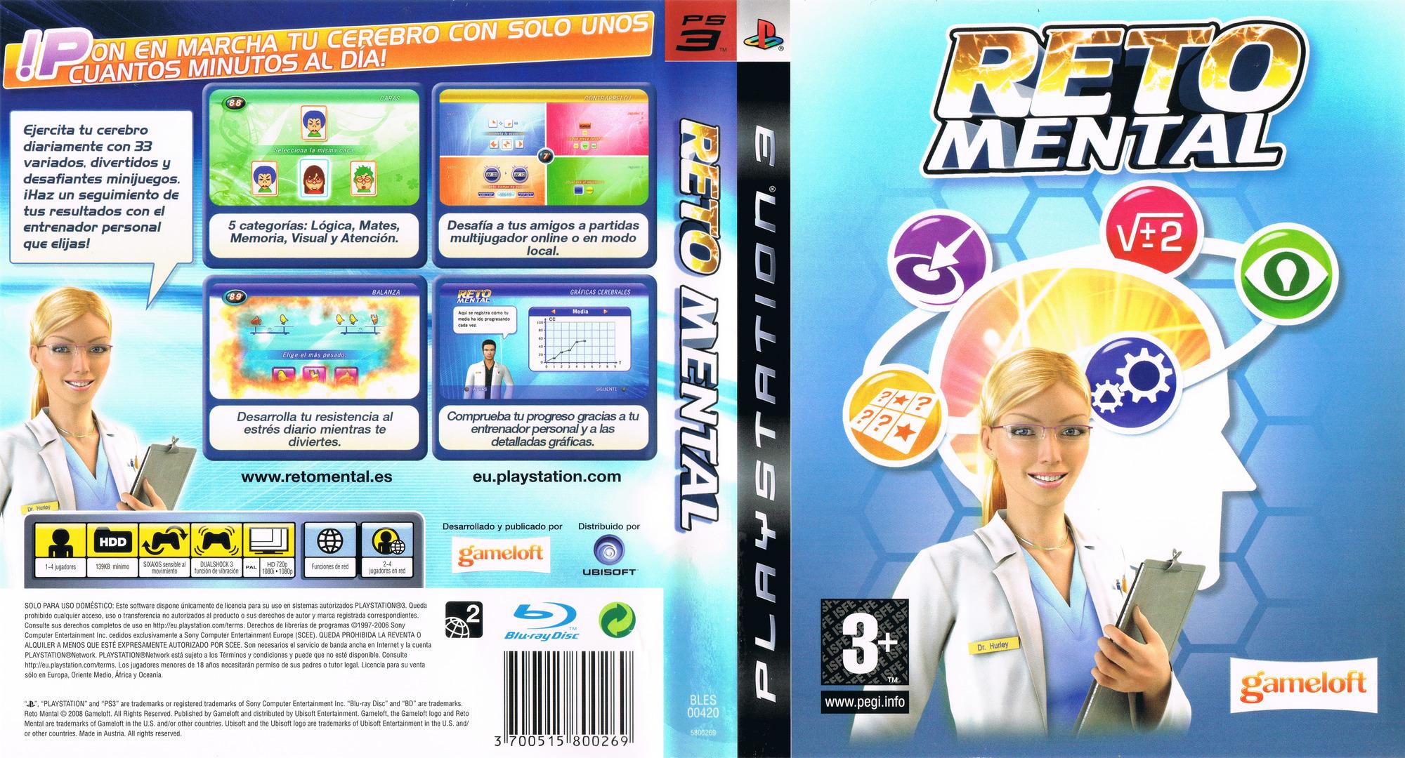 Reto Mental PS3 coverfullHQ (BLES00420)