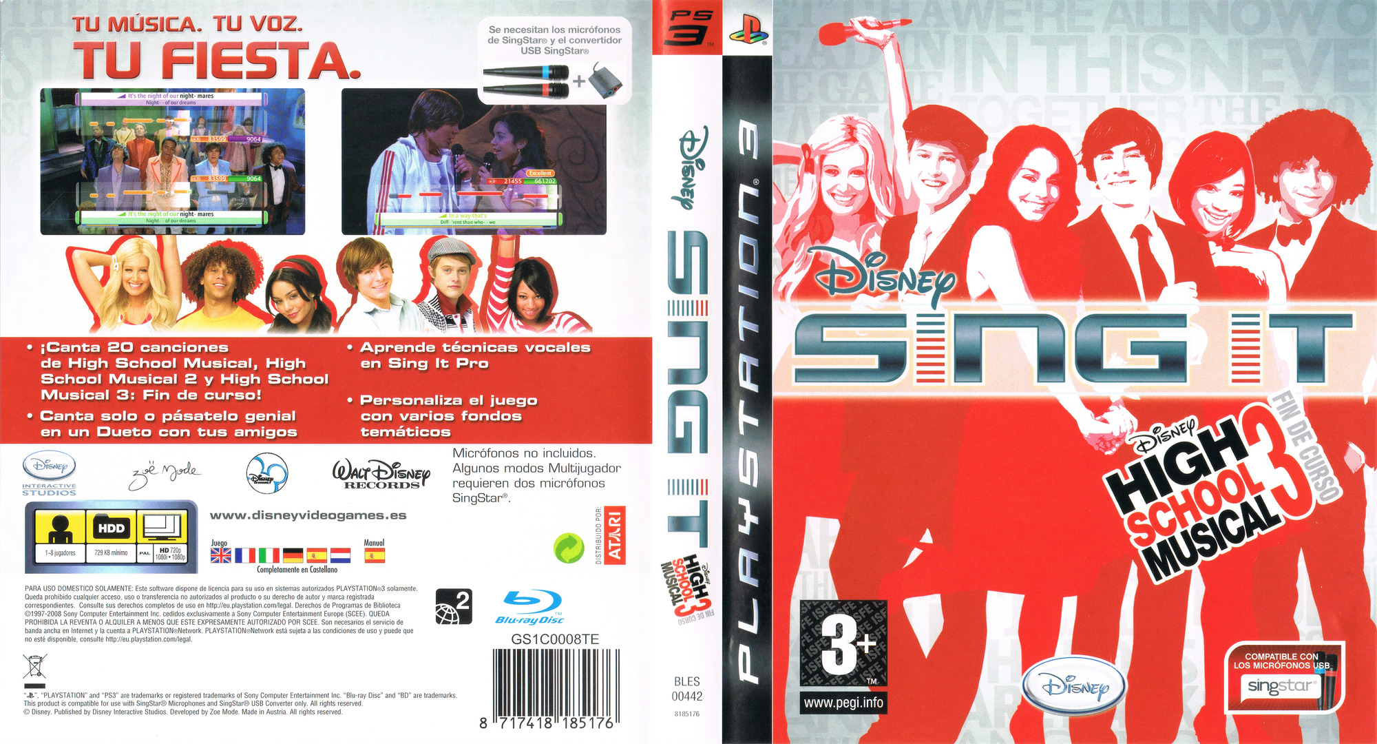 Bles00442 Disney Sing It High School Musical 3 Senior Year