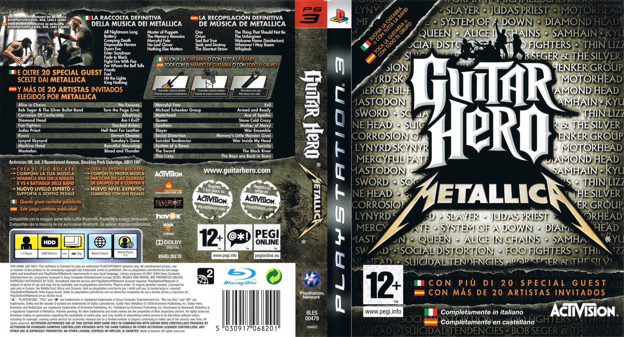 Bles00479 Guitar Hero Metallica