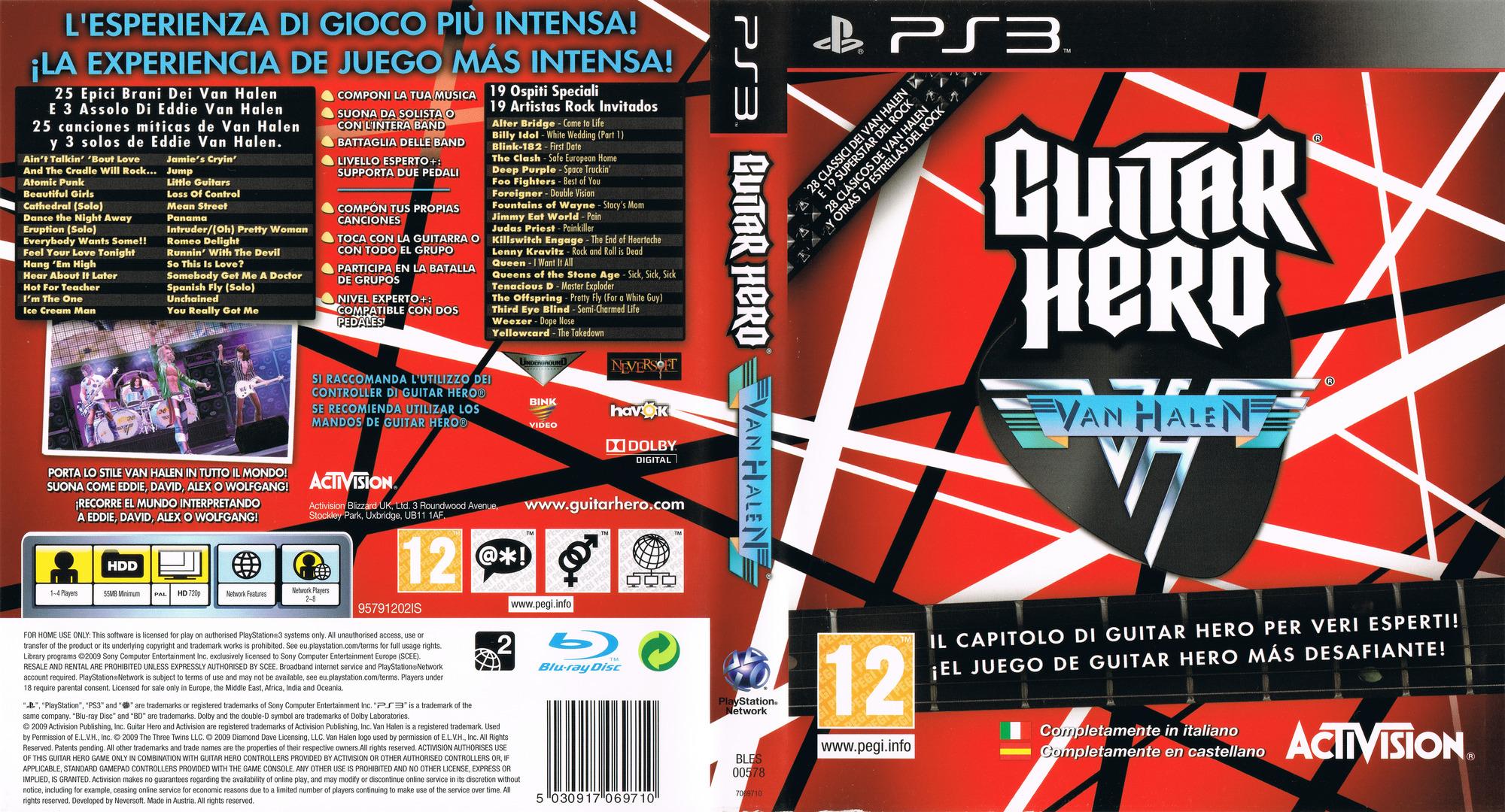 BLES00578 - Guitar Hero: Van Halen