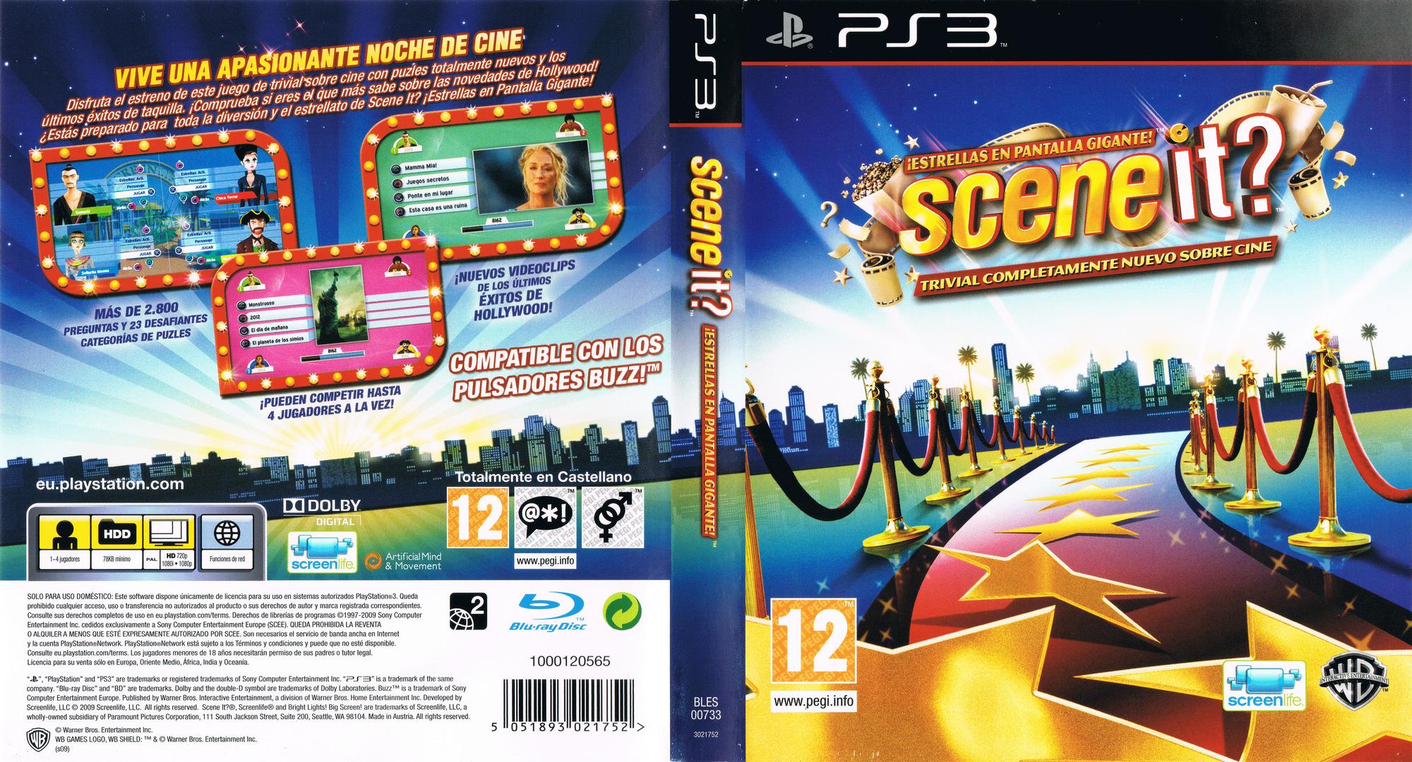 Scene It? ¡Estrellas en Pantalla Gigante! PS3 coverfullHQ (BLES00733)