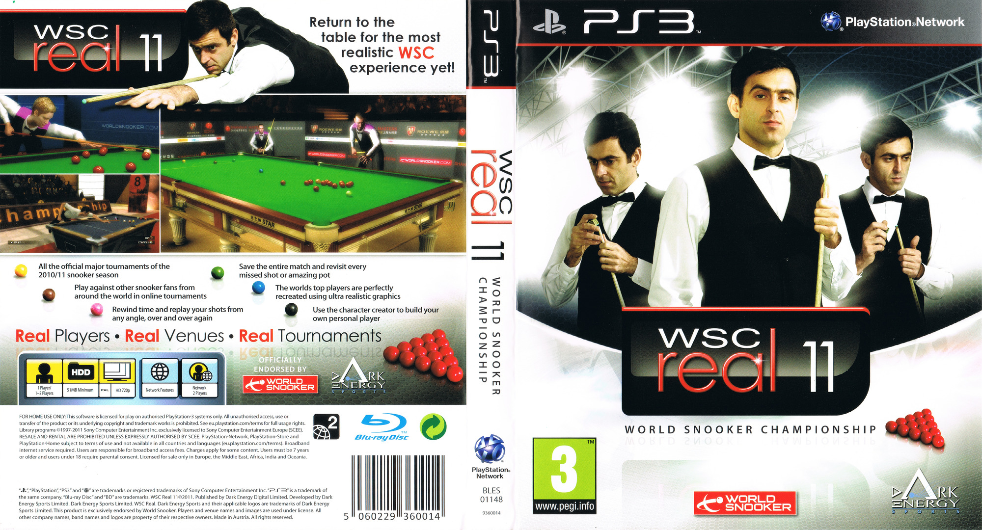 BLES01148 WSC Real 11 World Snooker Championship