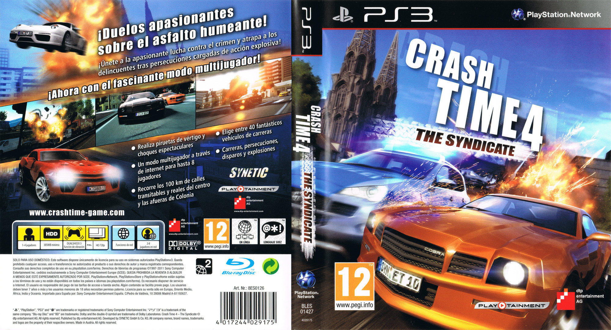 About: Crash Time 4: The Syndicate