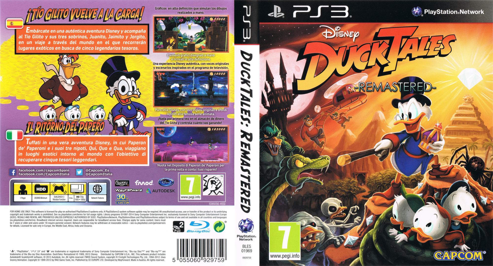 BLES01969 - DuckTales: Remastered