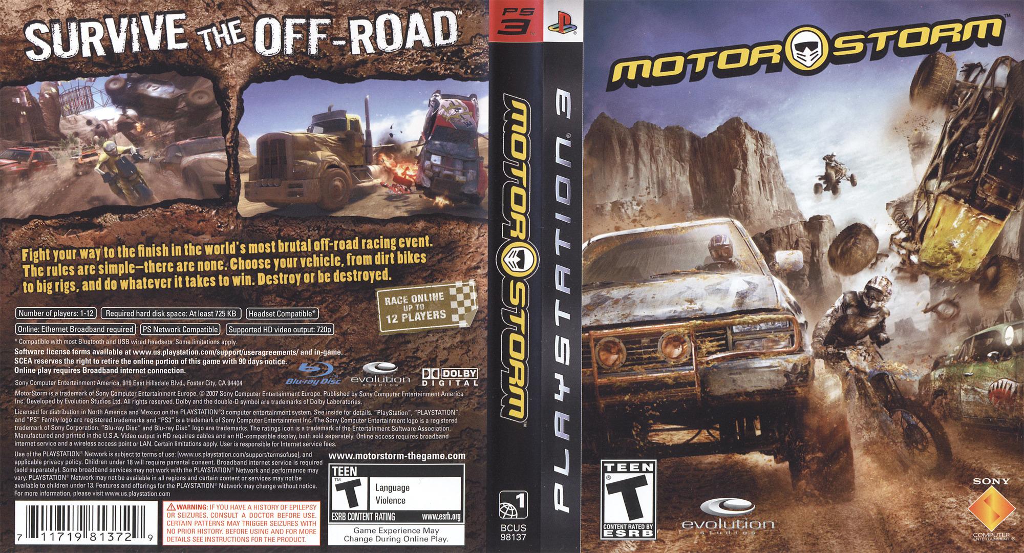MotorStorm PS3 coverfullHQ (BCUS98137)