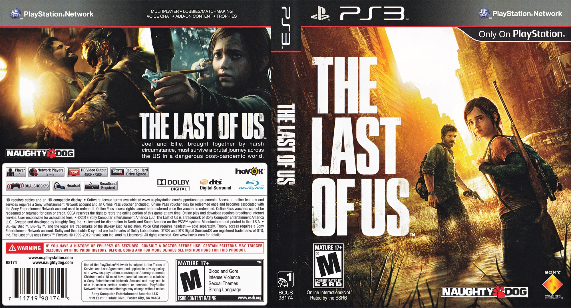 The Last of US PS3 coverfullHQ (BCUS98174)