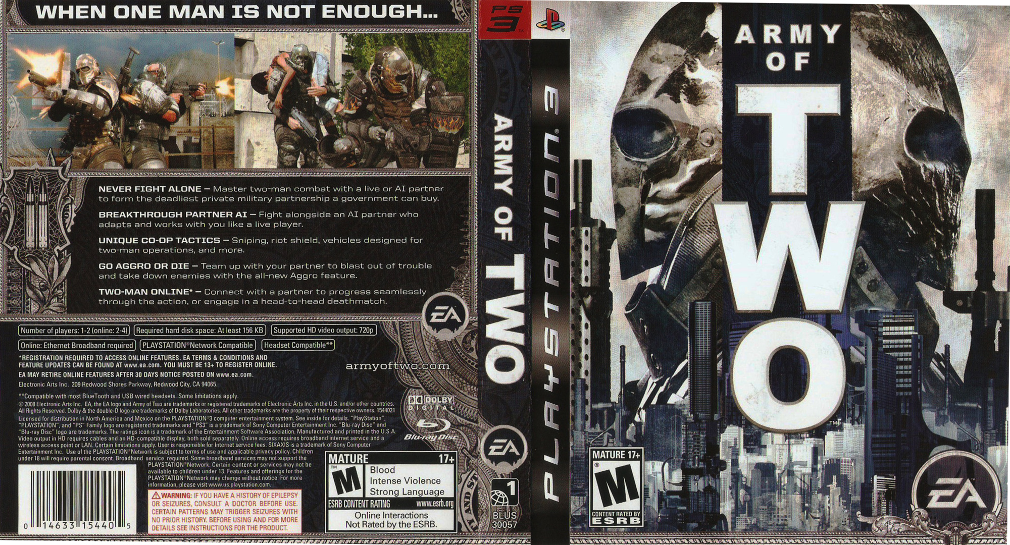 Army of Two PS3 coverfullHQ (BLUS30057)