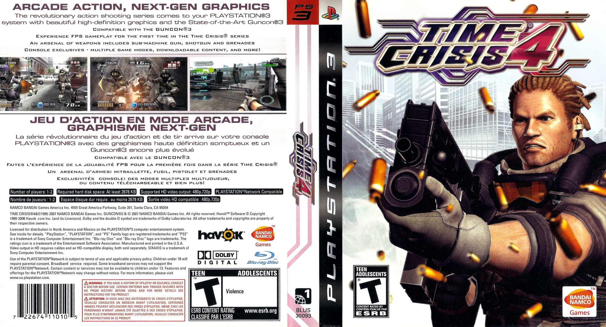 Time Crisis 4 PS3 coverfullHQ (BLUS30093)