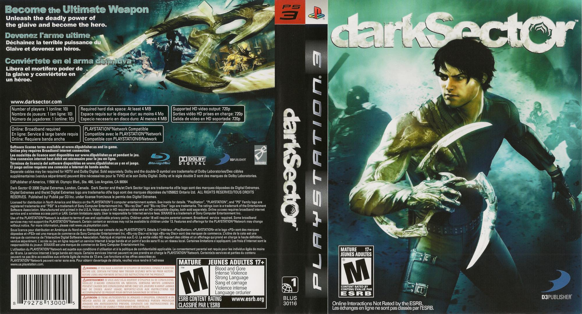 BLUS30116 - Dark Sector