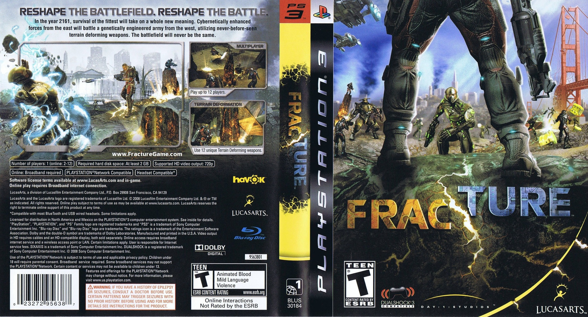 Fracture PS3 coverfullHQ (BLUS30184)