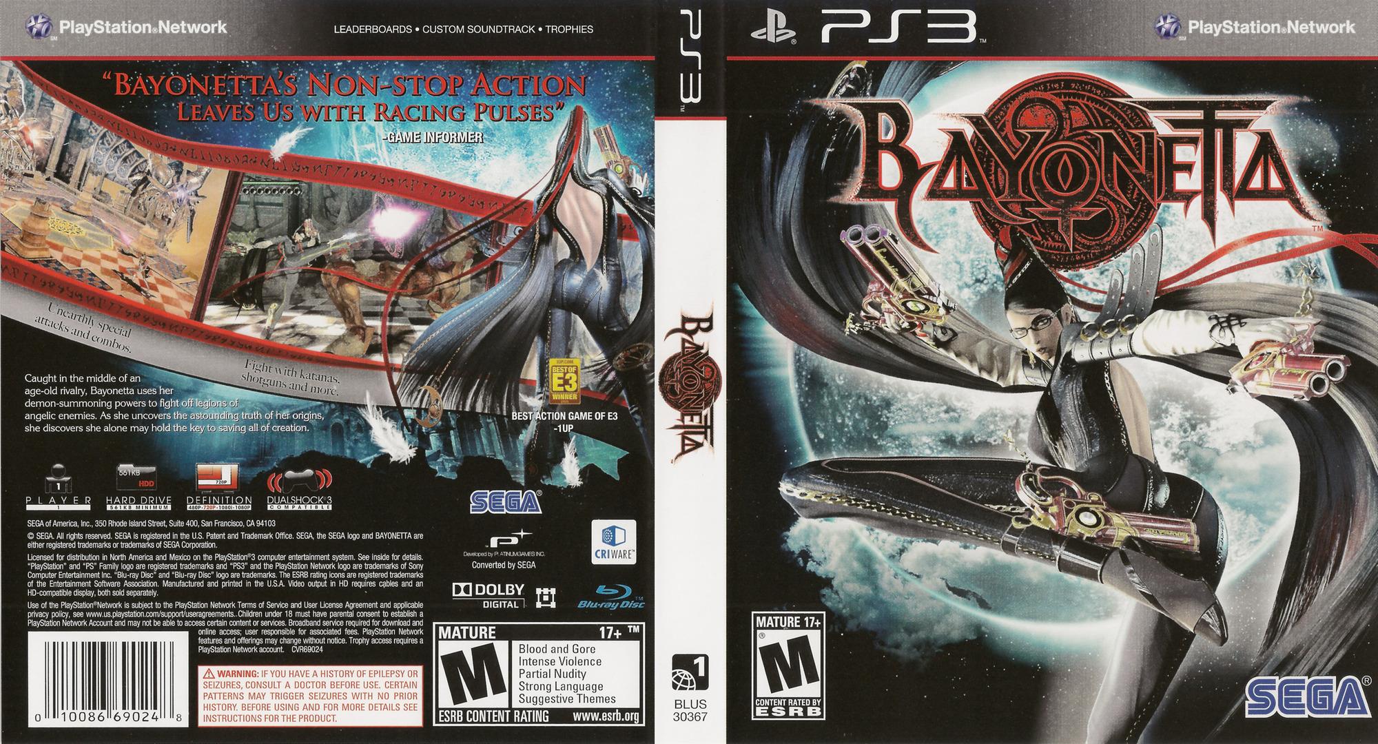 Release Date >> BLUS30367 - Bayonetta