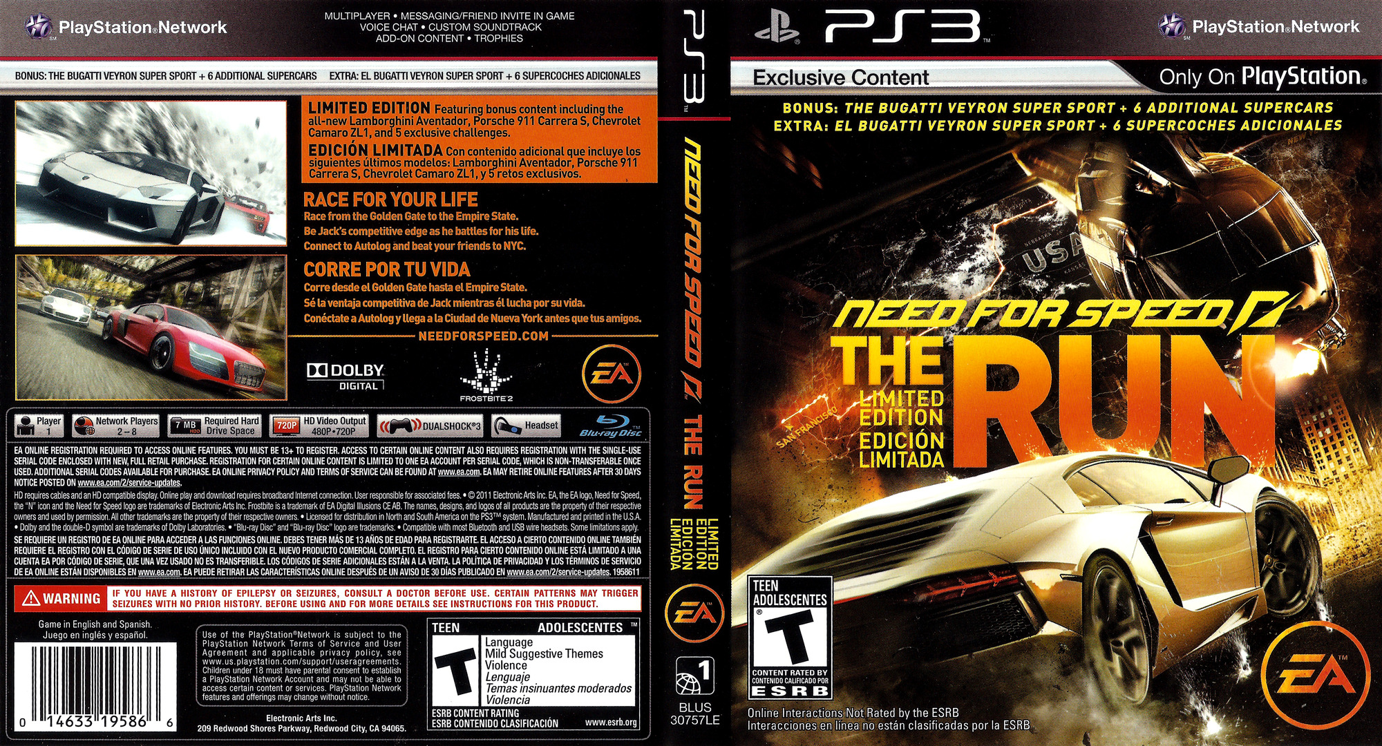 Need for Speed: The Run PS3 coverfullHQ (BLUS30757)