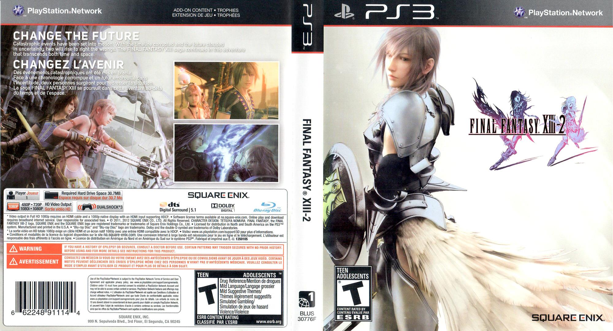 Release Date >> BLUS30776 - Final Fantasy XIII-2