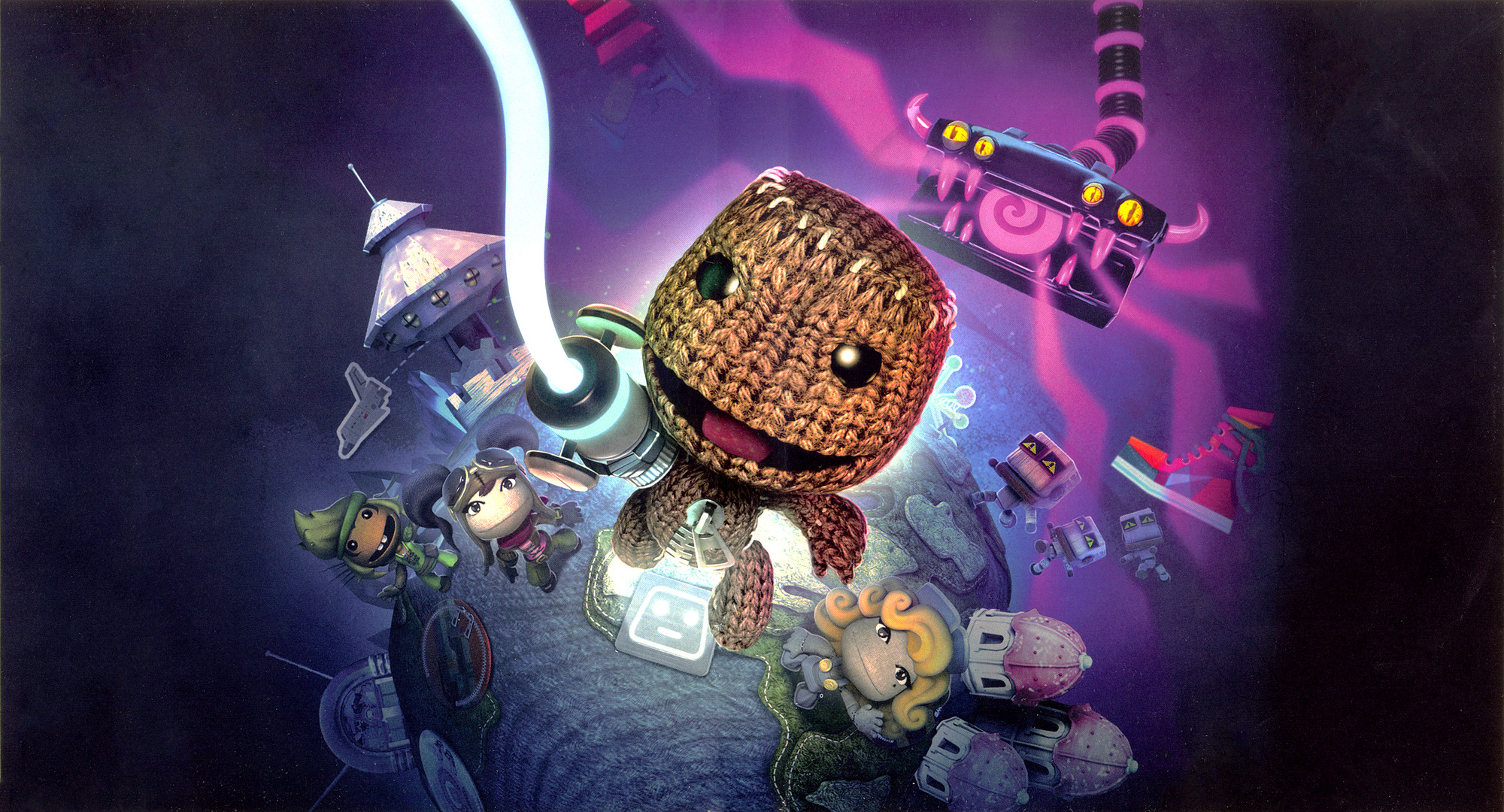 LittleBigPlanet 2 (Extras Edition) PS3 coverfullHQ2 (BCES01694)