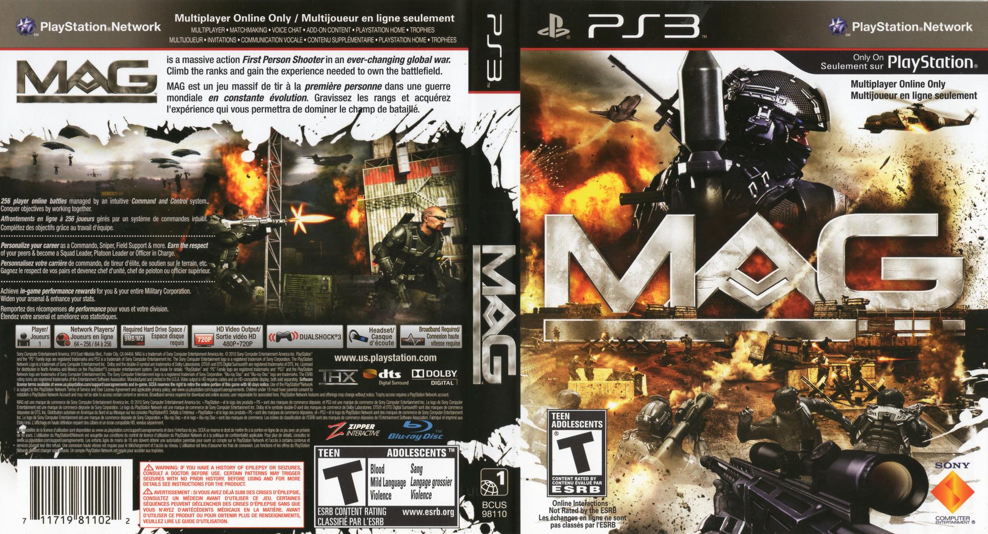 MAG PS3 coverfullHQ2 (BCUS98110)