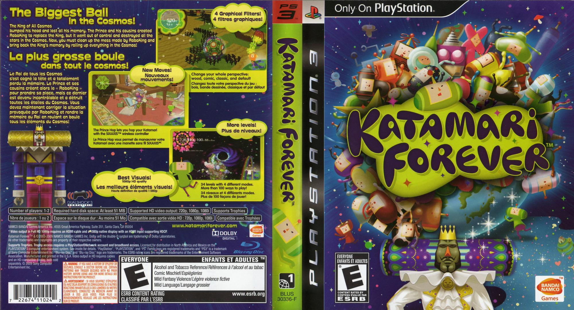 Katamari Forever PS3 coverfullHQ2 (BLUS30336)