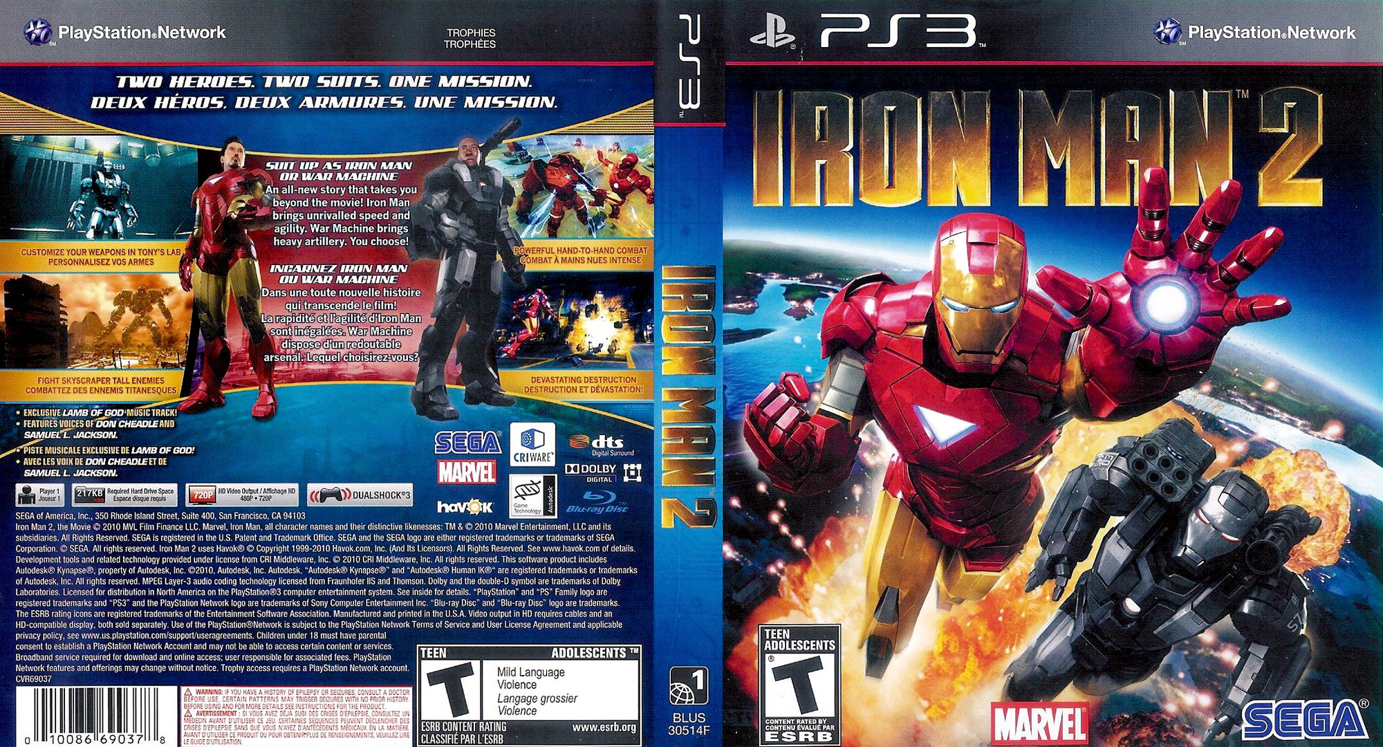 Iron man 2 the game ps3 part 1 sonic rivals 2 game online